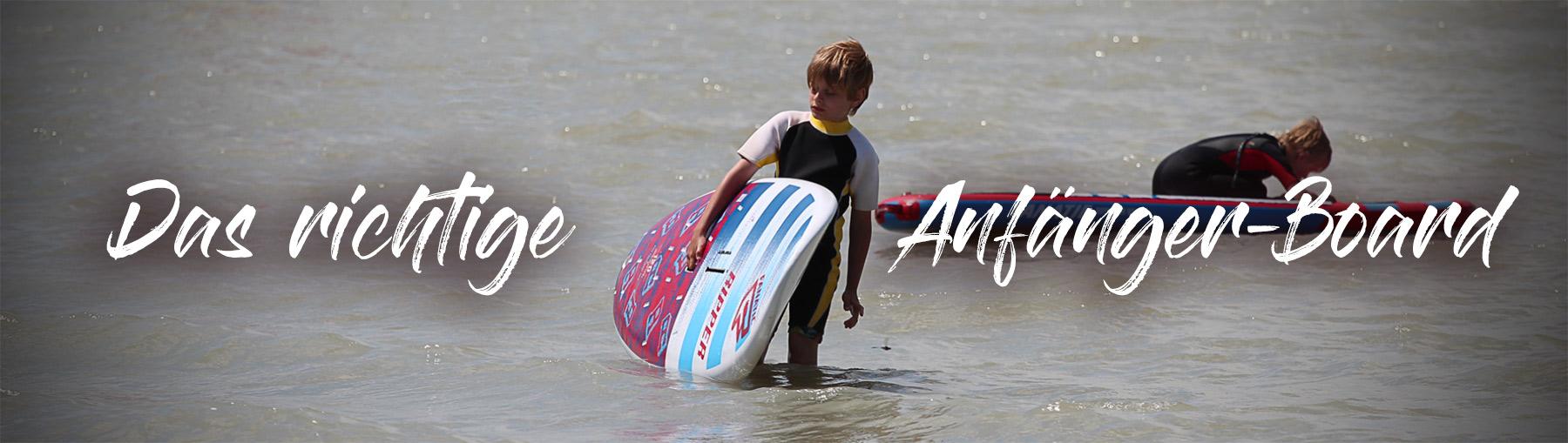 das richtige Windsurfboard für Kinder